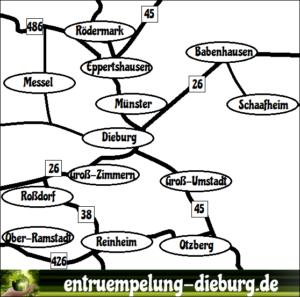 Entrümpelungen Dieburg - Unser Kerngebiet für Entrümpelung und Haushaltsauflösung